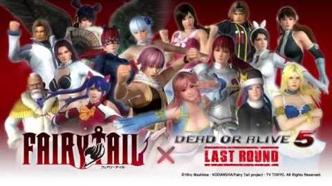 Dead or Alive 5 Last Round - Fairy Tail Costume Mashup