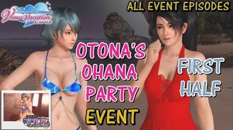 DOAXVV All event episodes of Otona's Ohana Party (first half) event