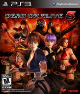 Dead or alive 5 US front cover
