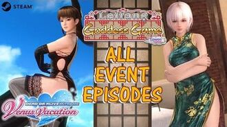 DOAXVV All event episodes of Leifang's Goddess Game event (English)