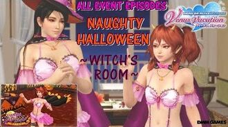 DOAXVV All event episodes of Naughty halloween ~Witch's room~ event