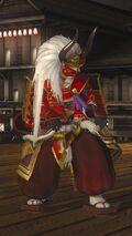 DOA5LR Samurai Warriors Costume Gen Fu