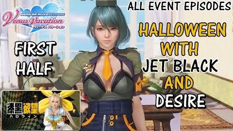 DOAXVV All event episodes of Halloween with jet black and desire (first half) event