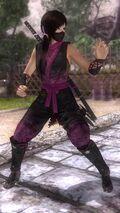 DOA5LR costume Ninja Clain VOL1 Kokoro