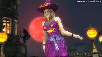 DOA5U Sarah Halloween