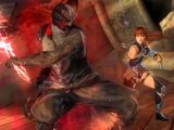 Kasumi/Dead or Alive 5 Last Round command list