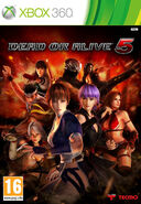 Dead or alive 5 xbox 360 PAL cover