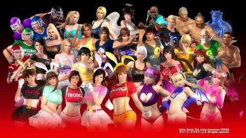 『DEAD OR ALIVE 5 Last Round』「テクモ50周年記念コスチューム」 紹介ムービー