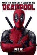 Deadpool (film) poster 009