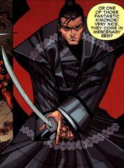 Punisher kimono