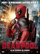 Deadpool French Poster