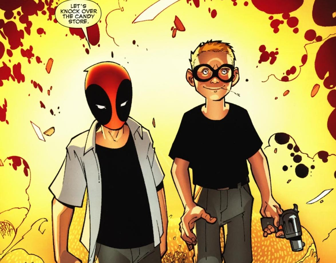 Image result for deadpool bullseye