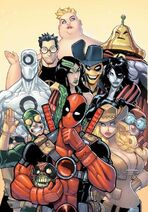 Deadpool Corps Rank and Foul Vol 1 1 Textless