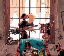 Deadpool Family Vol 1 1 Textlessd