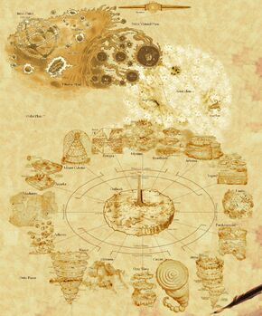 The Planescape Multiverse by zen79