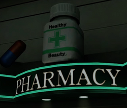 Seon's Pharmacy Sign PP Sticker