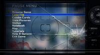Dead rising 2 off the record concept art from main menu art page menu pause menu