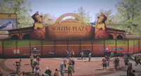 Dead rising South Plaza ad fortune park