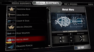Metal Mary Blueprint
