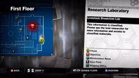 Dead rising medical gown map