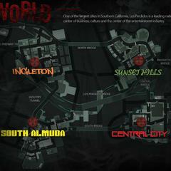 полная карта всех районов города.
