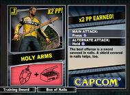 Dead rising 2 combo card Holy Arms