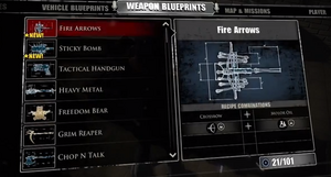 Fire Arrows Blueprint