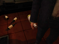 Dead rising the drunkard bottles