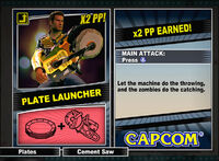 Dead rising 2 combo card Plate Launcher