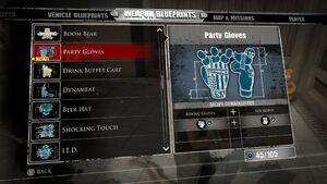 Party Gloves Blueprints