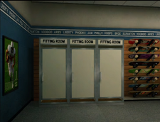 Shooting Star Sporting Goods Fitting Rooms
