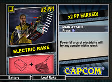 Dead rising 2 combo card Electric Rake
