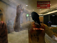 Dead rising zombies burnt by frying pan (6)