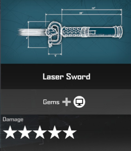 Laser Sword DR4 Blueprint
