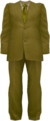 Dead rising Yellow Suit with Yellow Striped Tie
