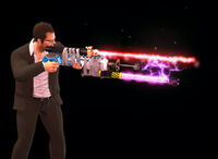 Dead island Laser Gun holding