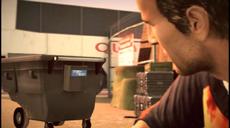 Dead rising 2 Case 0 case 0-3 cutscene 14 garbage bin