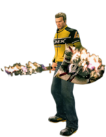 Dead rising infernal arms holding