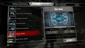 Hail Mary Blueprints 2