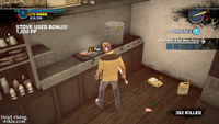 Dead rising case 0 mommas diner pan warming
