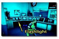 Case west laser sword flashlight