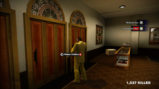 Dead rising clothing Yellow Suit with Yellow Striped Tie Modern Businessman (2)