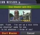 Clay Shootin' with Otis