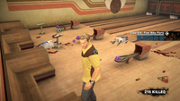 Dead rising case 0 grumpy dog bowling alley handbags