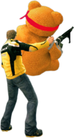 Dead rising freedom bear throwing