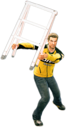 Dead rising step ladder combo