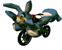 Dead rising Rabbit Bike