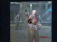 Dead rising bug zombie hand through window