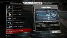 Flaming Sword Blueprints 2