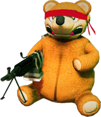 Dead rising Freedom Bear
